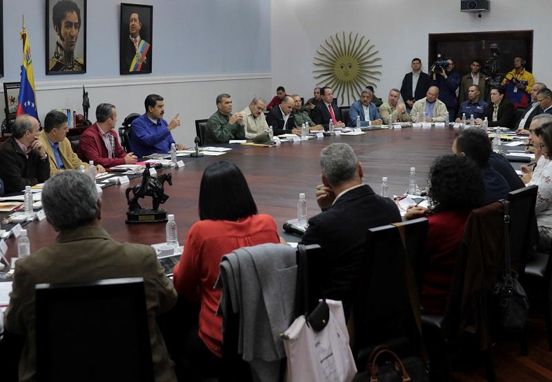 """El presidente de Venezuela, Nicolás Maduro, aceptó horas antes la """"invitación"""" a retomar este proceso. Foto: Reuters"""
