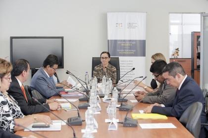 Está prevista la presencia de los abogados Madeline Pinargote Valencia, Josué Sánchez Fajardo, Julio Arévalo Rivera y Hernán Ulloa Ordóñez (representantes de los exjueces). Foto: Asamblea