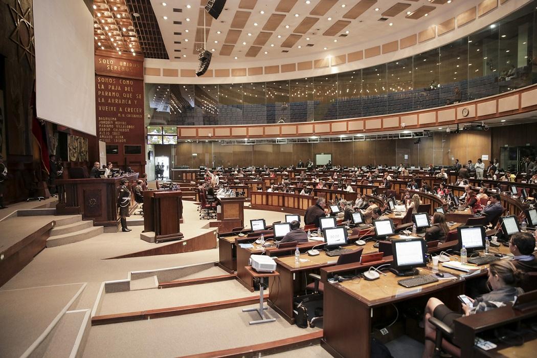 El Parlamento recibió el trámite de destitución de Glas
