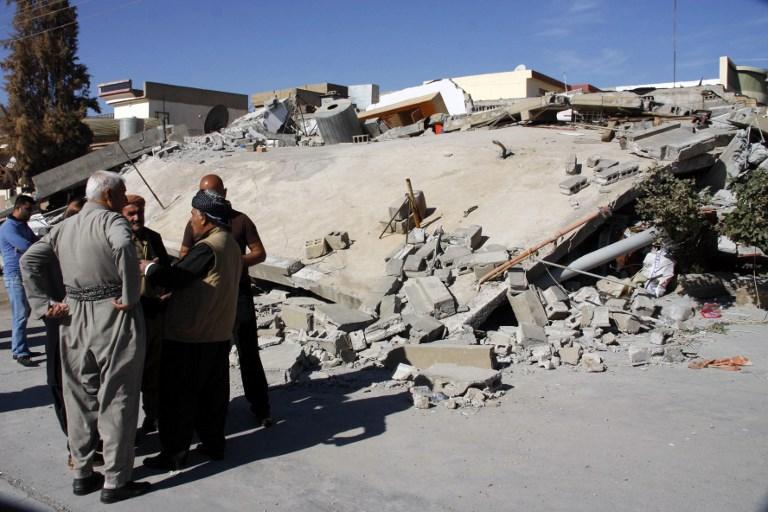 Aumentan a 530 las víctimas del terremoto en frontera de Irak