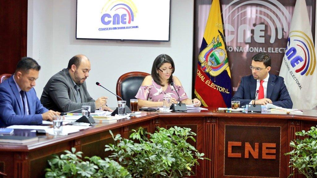 CNE no admitió inscripción de Ricardo Patiño como presidente de Alianza PAIS