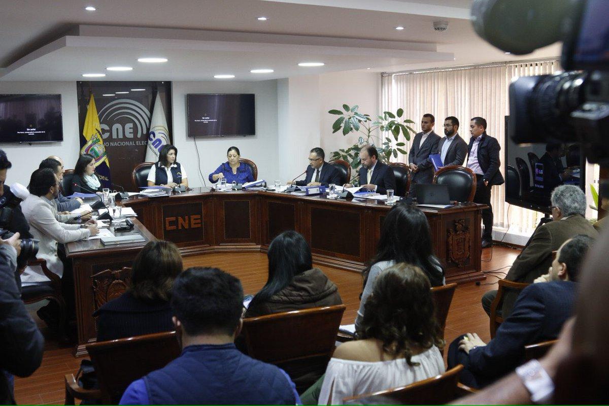 Nubia Villacís es la nueva presidenta del CNE