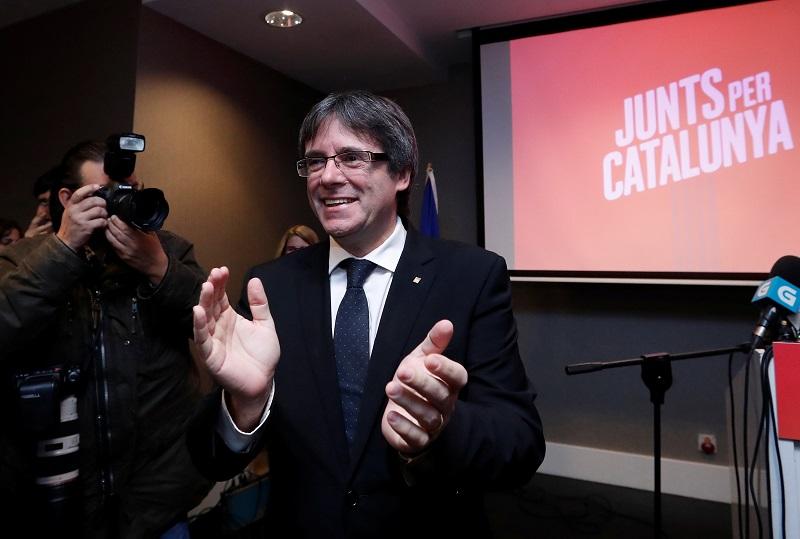 Cita ante el juez de Puigdemont y los exconsejeros en Bruselas