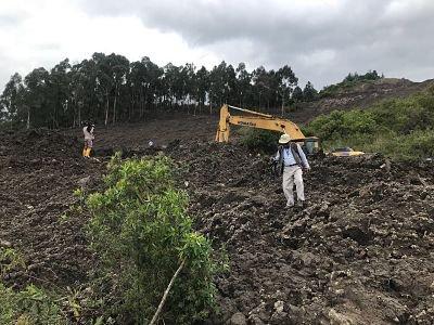 171 barrios de Quito se quedan sin agua por derrumbe