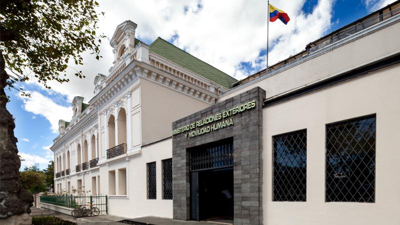 Ministerio de relaciones exteriores vistazo - Ministerio relaciones exteriores ecuador ...