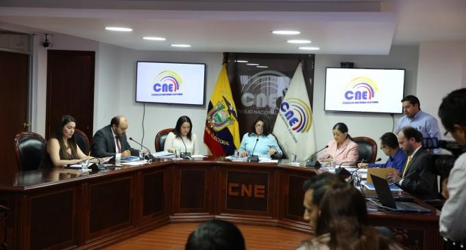 Organizaciones sociales podrán inscribirse hasta el miércoles en el CNE