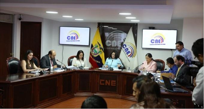 CNE amplía plazo de inscripción para organizaciones sociales
