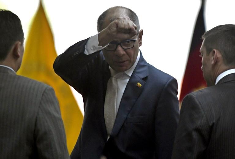 Corte Constitucional de Ecuador acepta juicio político contra vice por Odebrecht