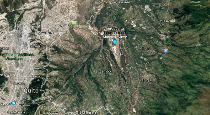 Sismo de magnitud 3,8 sacudió Quito este lunes