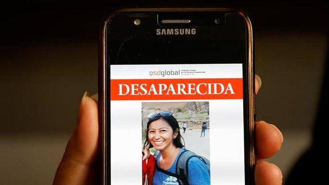 Padres de turista española desparecida se quedarán en Cusco hasta encontrarla