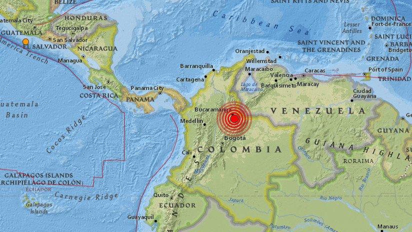 Sismo de magnitud 5,4 Richter afectó a Colombia