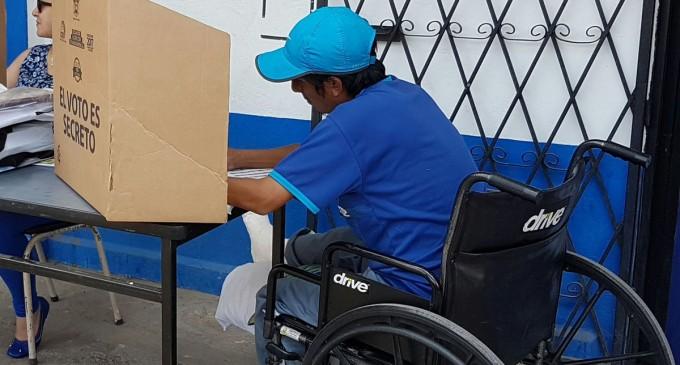 374.000 personas con discapacidad podrán ejercer su voto en la consulta popular