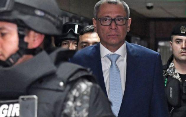Abogado de Jorge Glas apela la sentencia emitida contra el exvicepresidente