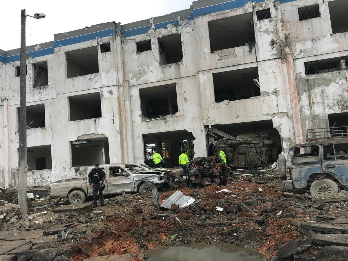 Moreno declara estado de excepci n tras explosi n vistazo for Twitter ministerio del interior ecuador