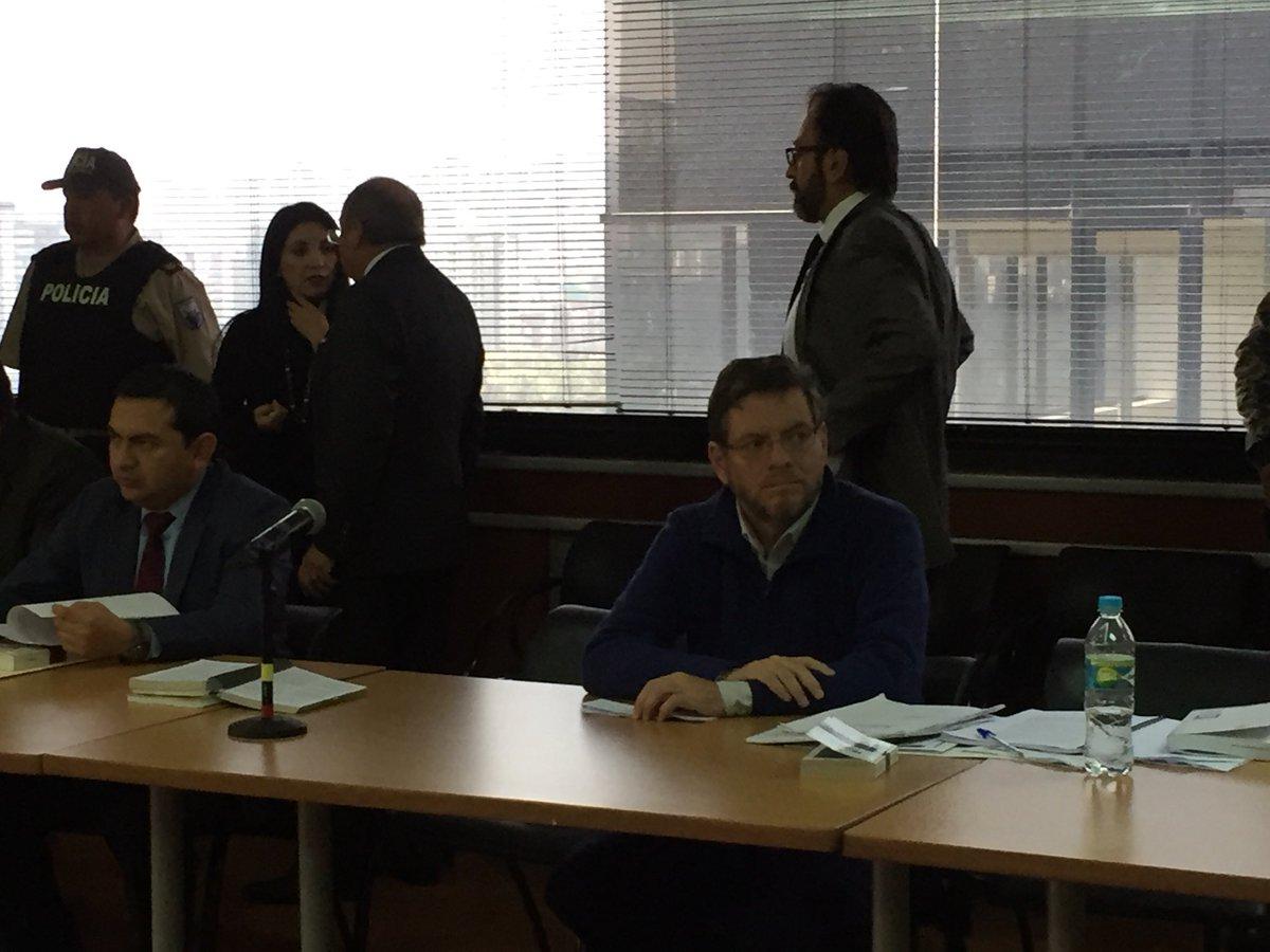 Exministro Alecksey Mosquera se declara culpable de lavado de activos