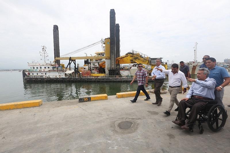 Dragado de puerto ecuatoriano permitirá incrementar comercio exterior