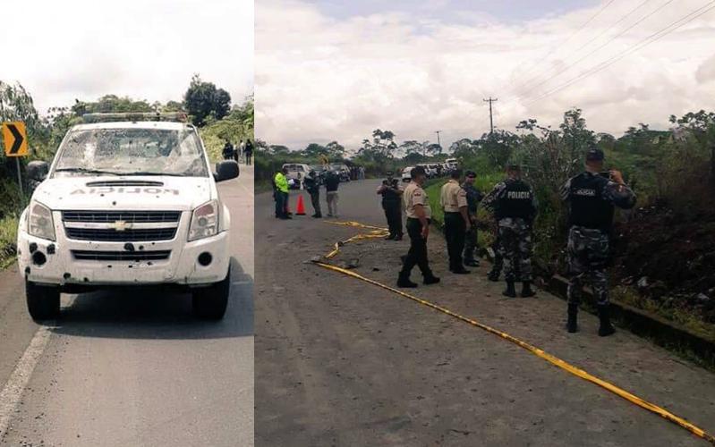 Frontera caliente: Atacan a patrulla militar y atentan contra vehículo policial