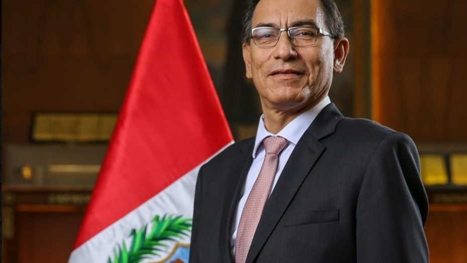 Así juró como presidente del Perú — Martín Vizcarra