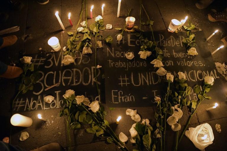 El PRM condena el asesinato de periodistas ecuatorianos