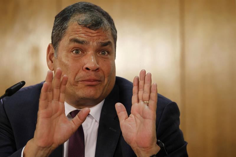 Correa Relacionarme Con FARC Es Una U0026quot Cortina De Humo