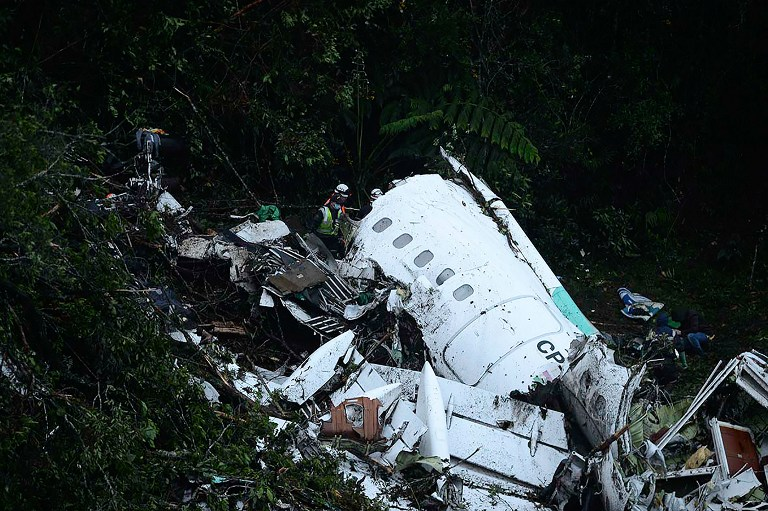 El avión que había partido de Bolivia cayó en el Cerro El Gordo, ubicado a unos 2.600 metros de altura en el municipio de La Unión. Foto: archivo