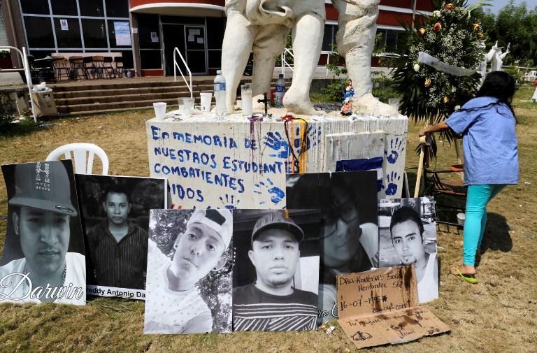 Estudiantes marchan para exigir justicia por muertos en Nicaragua