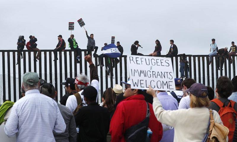 Estados Unidos cierra la frontera para la caravana migrante