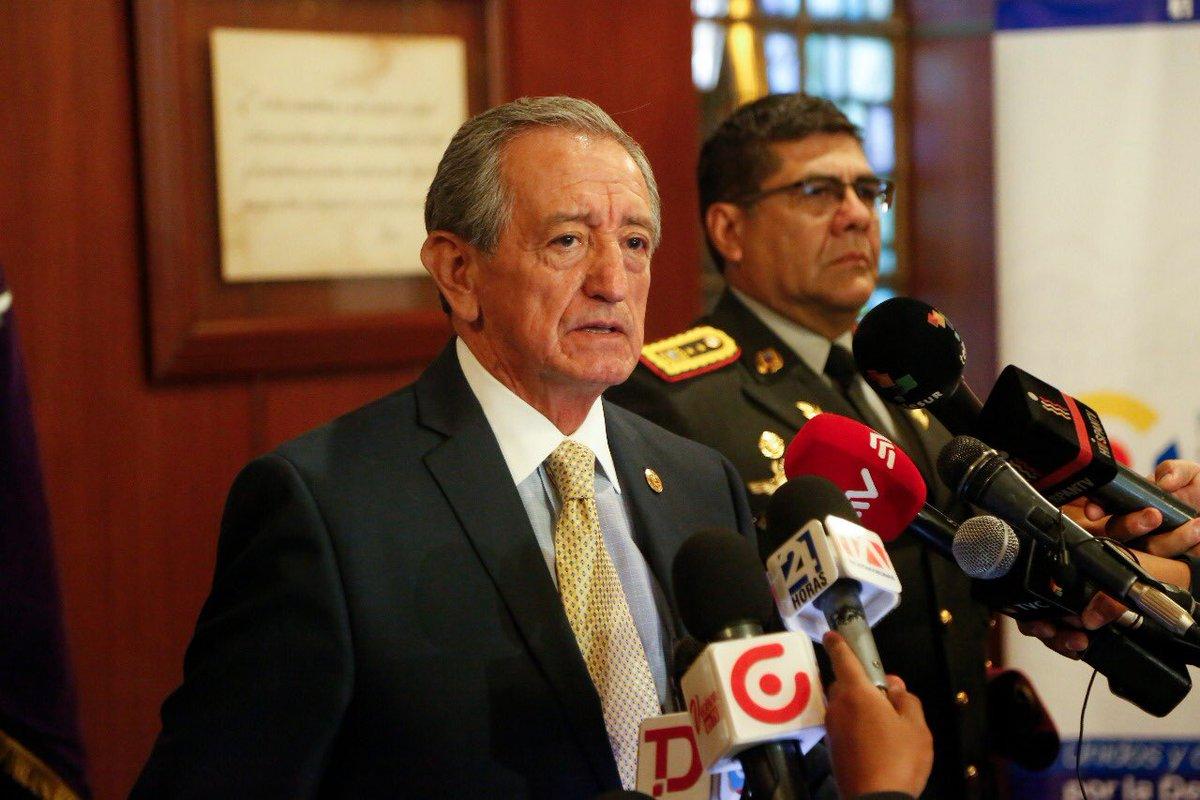 Oswaldo Jarrín promete protección ante los 'cobardes atentados en la frontera norte'