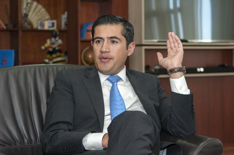 Richard Martínez, designado por Moreno, como nuevo ministro de Economía