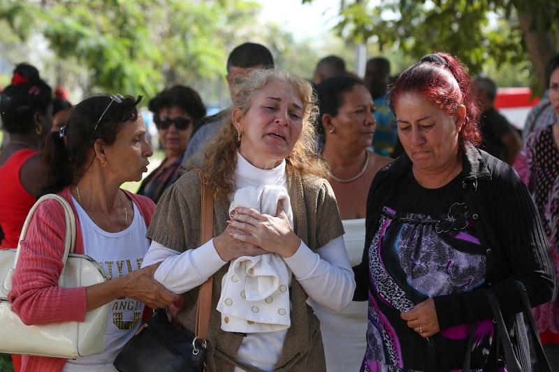 """Sólo tres cubanas sobrevivieron al accidente, el más grave de este tipo ocurrido en la isla en casi tres décadas, y se encuentran en """"estado crítico extremo"""". Foto: Reuters"""