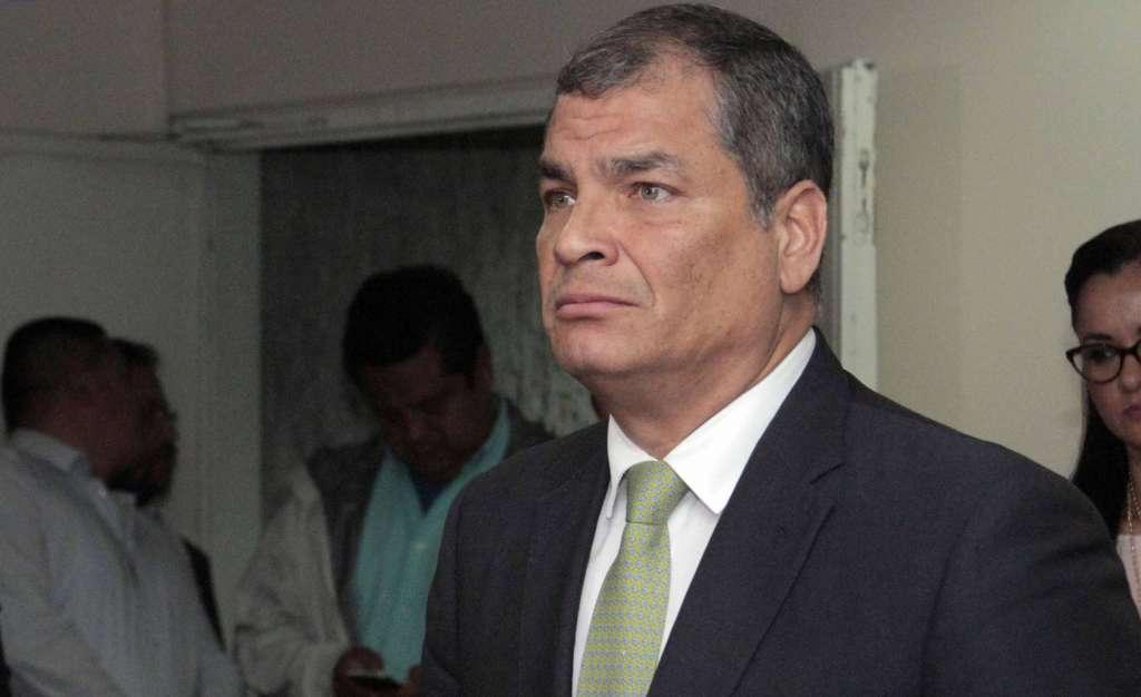 Solicitan que se dicte prisión preventiva para Rafael Correa