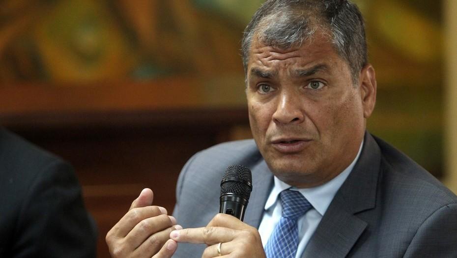 Correa se pronuncia sobre incidente con periodista 7 días atrás