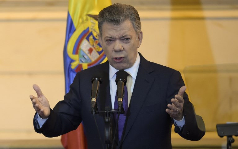 Santos busca acuerdo con el ELN antes de finalizar gobierno