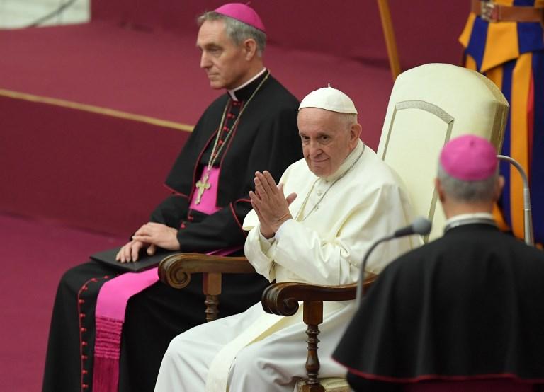 Un homosexual no puede ser sacerdote ni consagrado — Papa Francisco