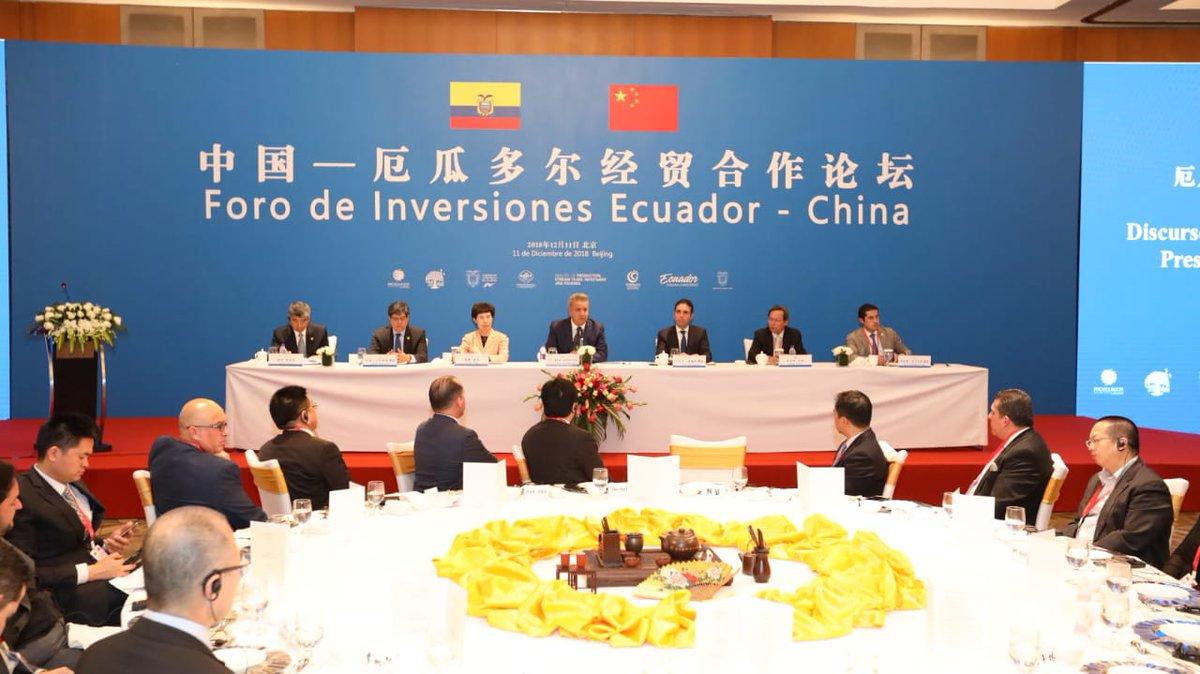 Ecuador obtiene un préstamo de China por 900 mdd
