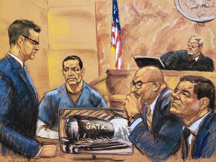 Juicio a 'El Chapo': Buscó Guzmán traficar cocaína en barcos de Pemex