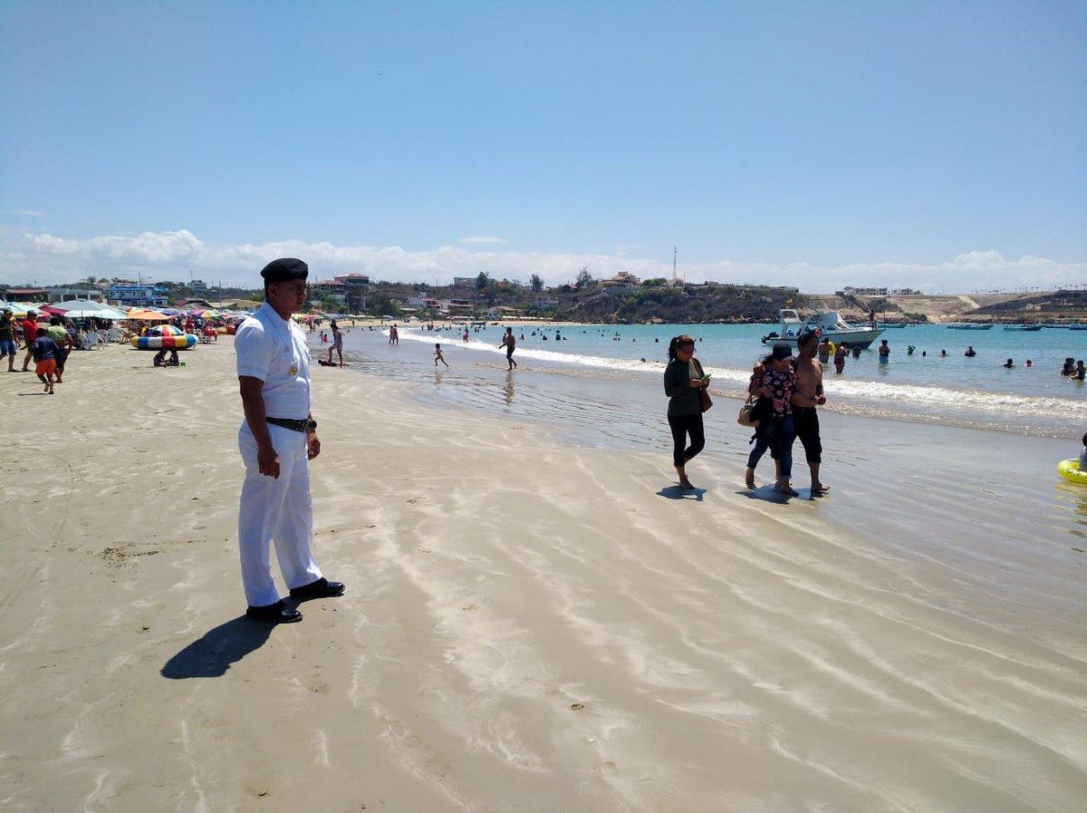 La Armada realizará hasta el 2 de enero el control y vigilancia de playas y espacios acuáticos. Foto: Armada del Ecuador.