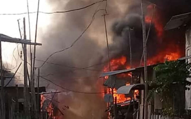 Incendio en el suburbio de Guayaquil deja 16 muertos