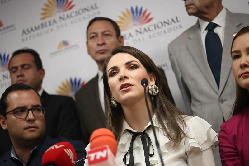 Pleno analizará informe sobre denuncia contra Ana Galarza