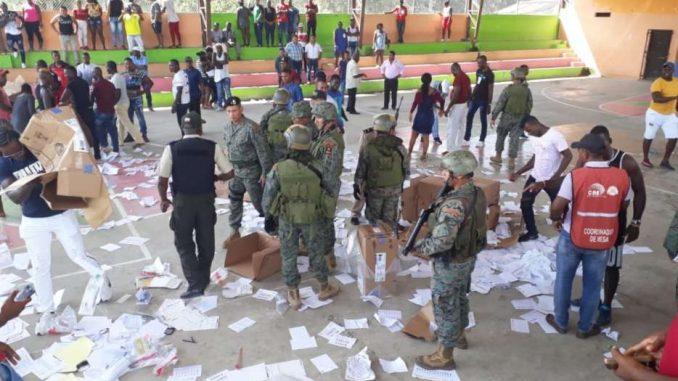 CNE emite primer reporte de resultados de las elecciones