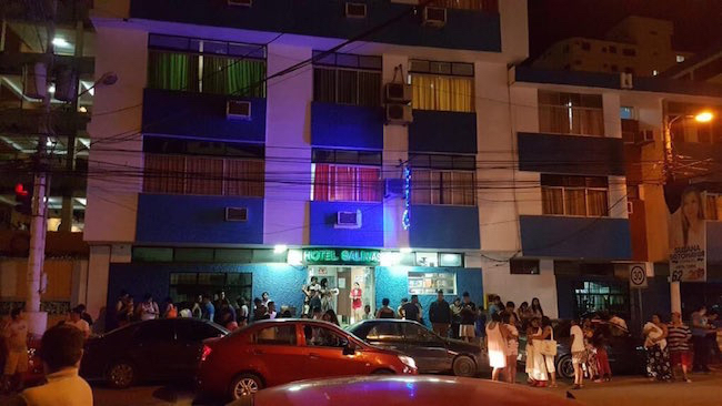 Sismo de 5.24 frente a las costas de Santa Elena — Ecuador