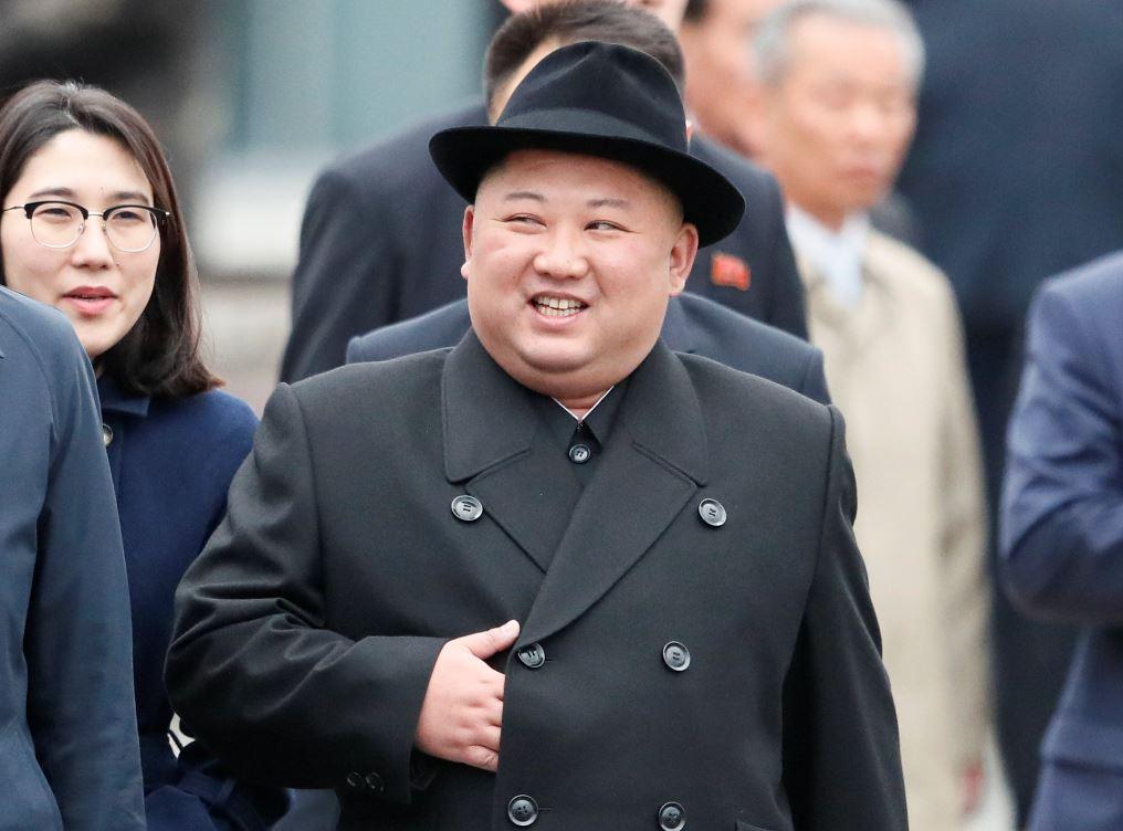 Kim fue recibido con honores militares en la estación ferroviaria de Vladivostok. Foto: Reuters.