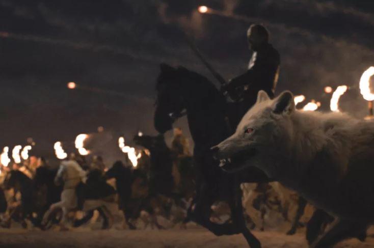 Ghost fue uno de los primeros en aventurarse en la batalla contra los 'Caminantes blancos'.