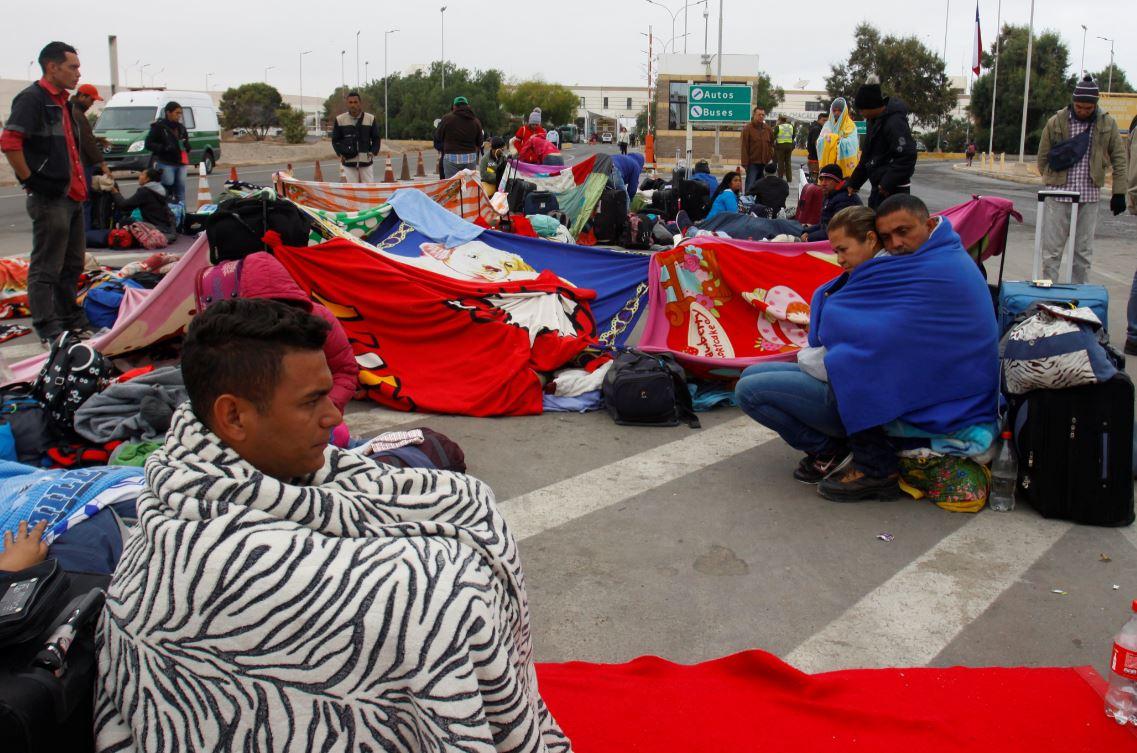 Colombia es el país que más migrantes venezolanos ha recibido, 1,3 millones. Foto: Reuters.