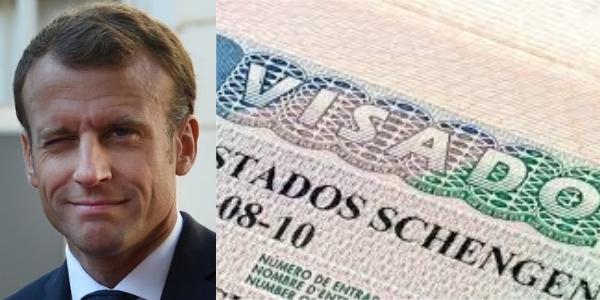 Considera legítimo Macron que Ecuador quede exento de visados en la UE