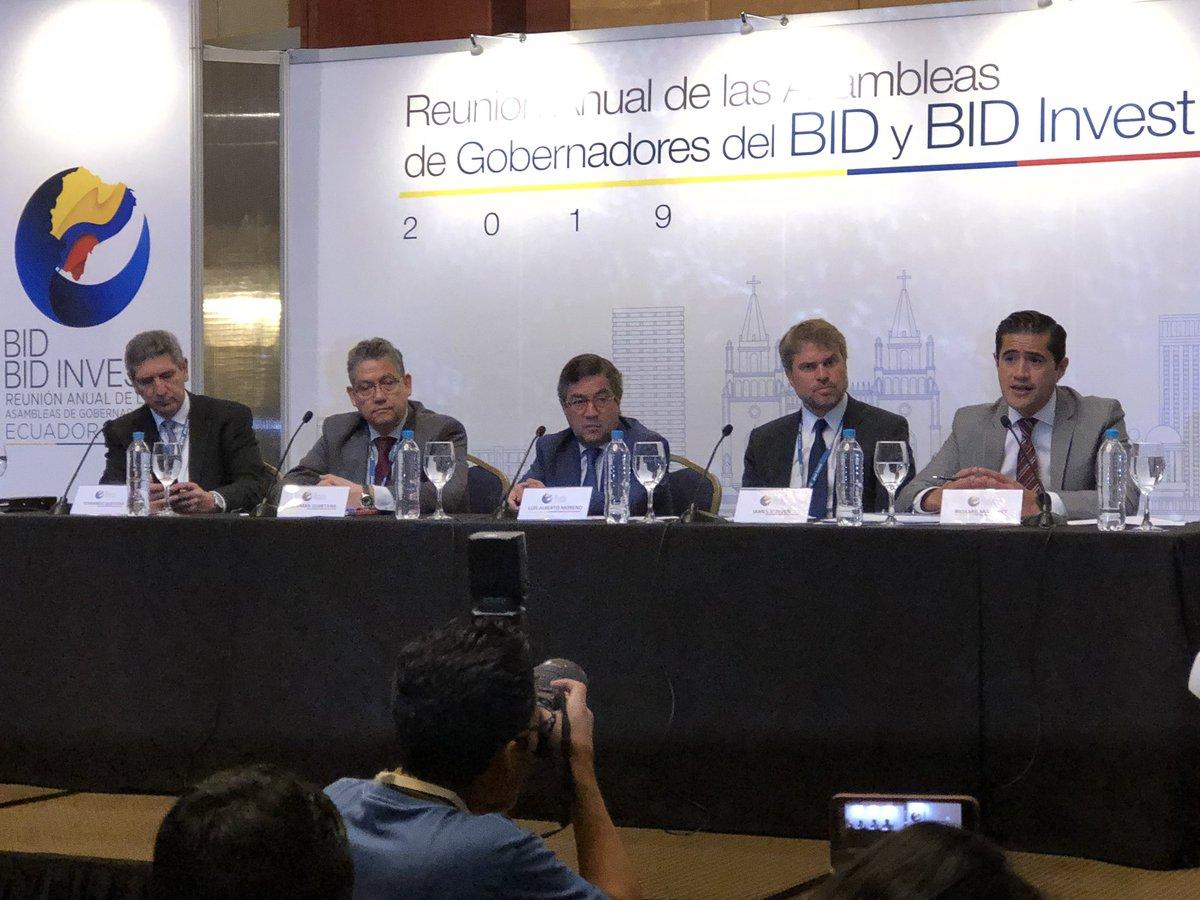 BID hizo un llamado para priorizar la situación de Venezuela