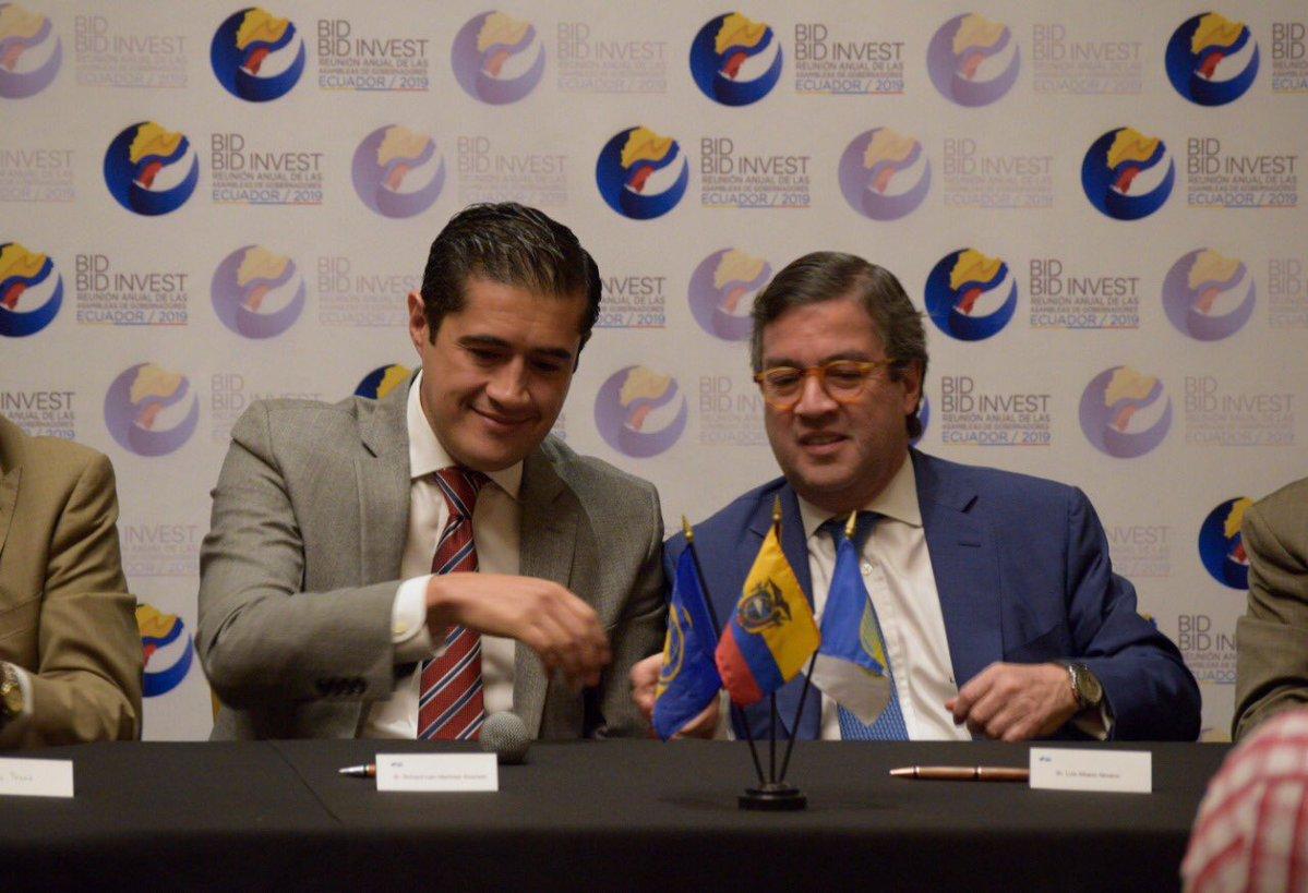 Grupo BID espera aprobar 1.900 millones de dólares para Ecuador este año