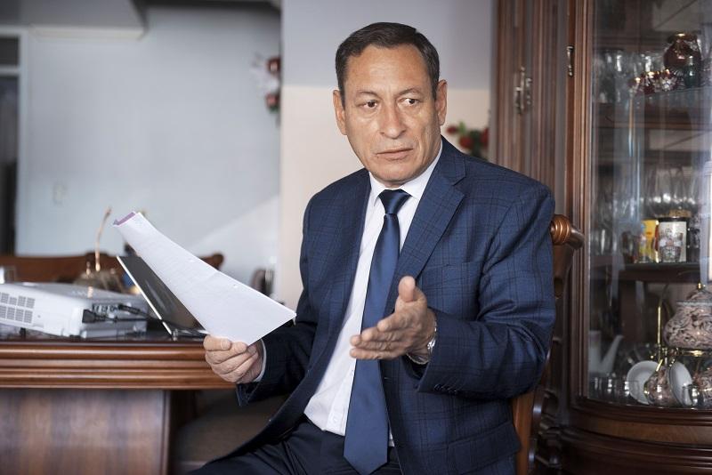 César Carrión dejó la institución meses después de los hechos violentos del 30 de septiembre de 2010.