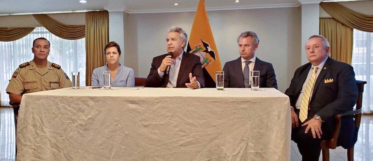 Esta es la primera parte del operativo, en el marco de las investigaciones de las 6 explosiones suscitadas en la Universidad de Guayaquil, según las autoridades.