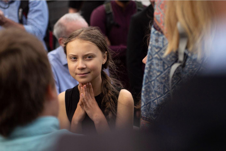Para 2019, Greta Thunberg es la favorita de los sitios de apuestas para el Nobel de la Paz, aunque las predicciones son muy arriesgadas. Foto: AFP.